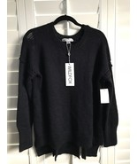 WILDFOX COUTURE Black Knit Sweater with Cut out back - NWT Size Small - $88.11