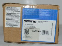Watts Double Check Valve Assembly 0062020 3/4 Inch Connection image 5
