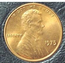 1975 Lincoln Memorial Penny BU #0135 - $0.89