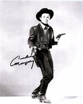AUDIE MURPHY Signed Autographed  Photo w/COA - 91 - $195.00