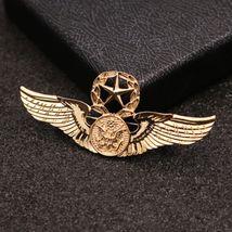 New Brooch Pin Men Lapel Suit Stick Collar European And American Militant Badge image 6