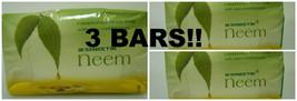 3 BARS! Swastik Neem Soap 70 grams w/ Eucalyptus Oil - $10.00