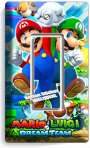 SUPER MARIO AND LUIGI BROS SINGLE GFCI LIGHT SWITCH WALL PLATE COVER ROO... - $8.09