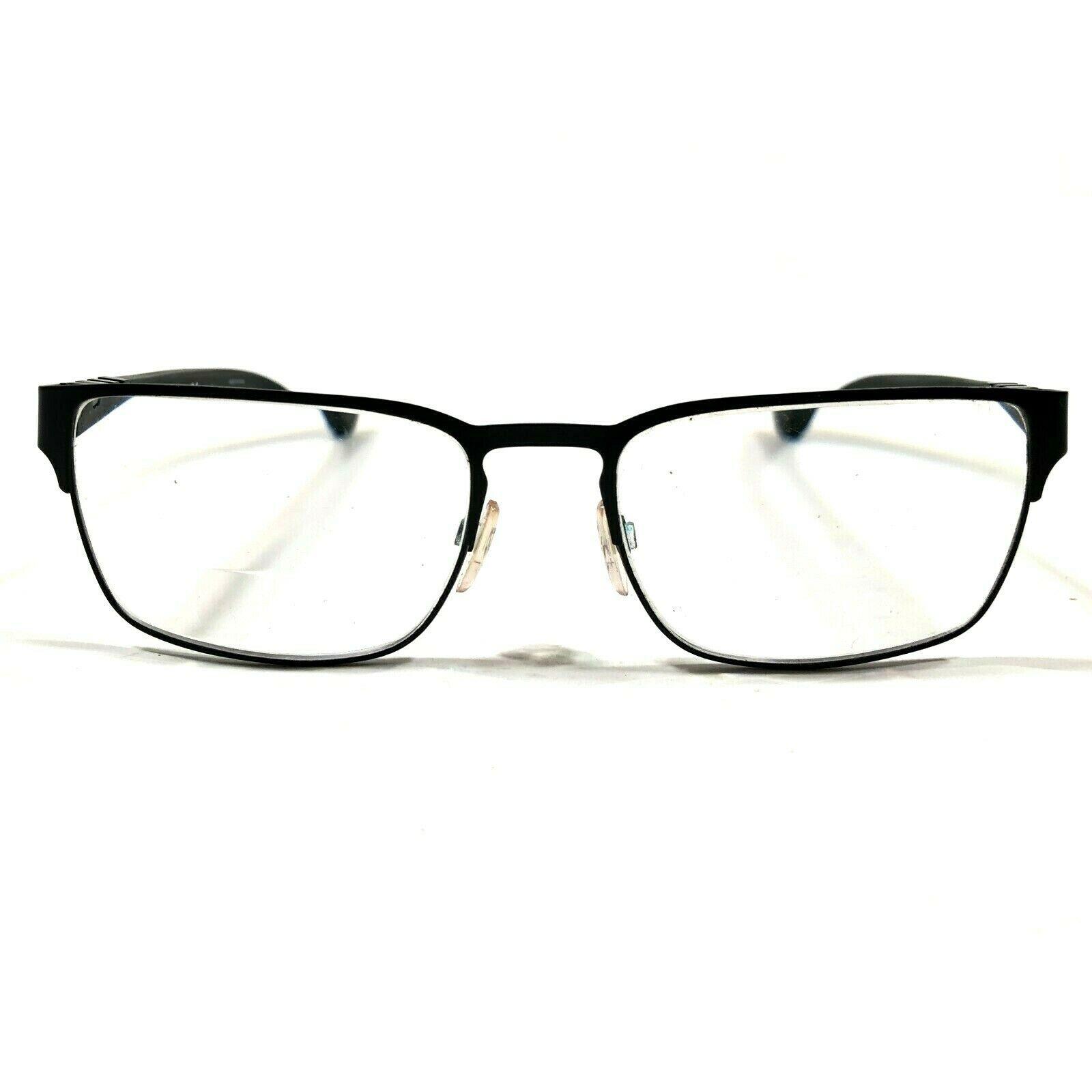 Emporio Armani Matte Black Thin Rimmed Square Eyeglasses Frames EA1027 3001 140 - $60.78