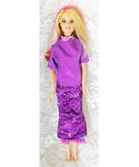 """2010 Mattel Barbie 11 1/2"""" doll with Changing Skirt Goes Up and Down - $9.49"""