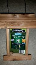 Classic Cedar Nature's Friend Wild Bird Feeder 1.25lbs Seed Capacity Hanging New - $9.18