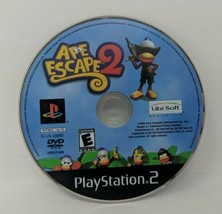 Ape Escape 2 Sony Playstation 2003 PS2 Disc Only Black Label Tested Working VTG - $34.64