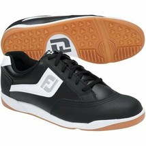 NEW! FootJoy FJ Men's Originals Golf Shoes -45347 Black - 11.5 Medium - $128.58