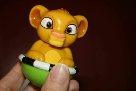 Weeble Wobble Disney Lion King Baby Simba Preschool Toy  - $4.65