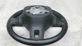 09 - 17 Volkswagen CC Eos Golf 3-Spoke Multifunction Steering Wheel Blck Leather image 11