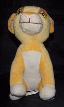 "Simba Disney Baby Plush Lovey 10"" The Lion King... - $19.99"
