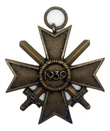 WW2 German War Merit Cross with swords 2nd class - $39.00