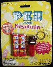 Pez Candy & Gorilla Keychain New On Card - $6.66