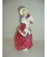 Royal Doulton HN 1992 Christmas Morn Lady Figurine - $42.89