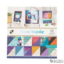 American Crafts™ Die Cuts with a View® Ocean Wonder Paper Stack - $25.72