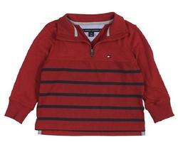 Tommy Hilfiger Boys' Quarter-Zip Striped Pullover, Size L ( 16-18) - $21.77