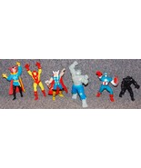 1989 - 1991 Marvel Avengers Lot of 6 PVC Figures - $59.99