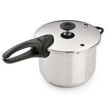 Presto 01365 6-Quart Stainless Steel Pressure Cooker, Deluxe - €53,31 EUR