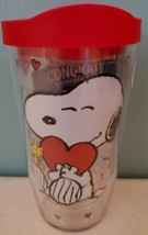 Tervis Snoopy Wrap With Travel Lid 16 oz NEW - $17.35