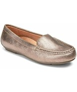 NEW Vionic Debbie Metallic Rose Gold Leather Orthotic Shoes~Loafers~Size 8M~MIB - €51,57 EUR