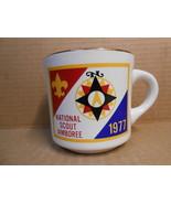 NATIONAL SCOUT JAMBOREE 1977 CERAMIC MUG BOY SCOUTS OF AMERICA NEW MINT ... - $14.95
