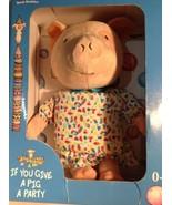 Zoobies Book Buddies Pig Plush - $18.81