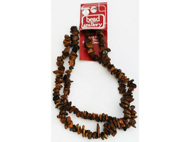 Bead Gallery Stone Tiger's Eye Bead Chips, 24 Inches #55032
