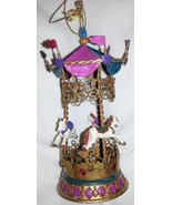 Katherine's Collection Sideshow Carousel Table Decoration/ornament,retired - $34.99