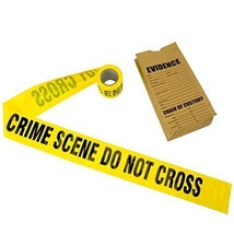 Crime Scene Tape, 100 ft Roll - $9.98