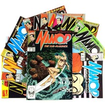 Namor the Sub-Mariner Comic Book Lot 9 Issues VF Marvel Iron Fist Defenders Hulk - $14.80