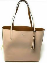NWT Kate Spade Lakeland Marina Reversible Pink/ Brown Leather Tote WKRU5342 $299 - $134.99