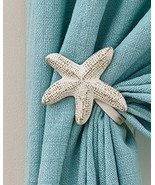 "Pair of Starfish Curtain Tie Backs Starfish 5""x5"" - $22.94"