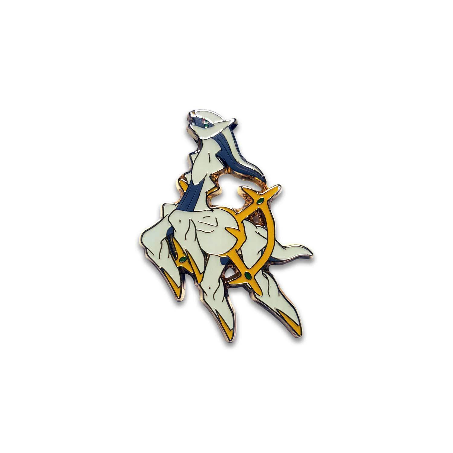 POKEMON Mythical Jirachi + Arceus Mythical Collection Pin Box Generations Packs