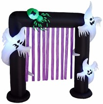 8 Foot Halloween Inflatable Ghosts Spider Archway Outdoor Party Yard Dec... - $119.00
