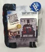 """Justice League Silky Soft Throw Blanket 40"""" x 50"""" Cuddly. Batman JL  - $18.06"""