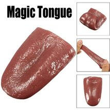 YGS Kuso Tongue Trick Magic Tongue Fake - One Item w/Random Color and Design