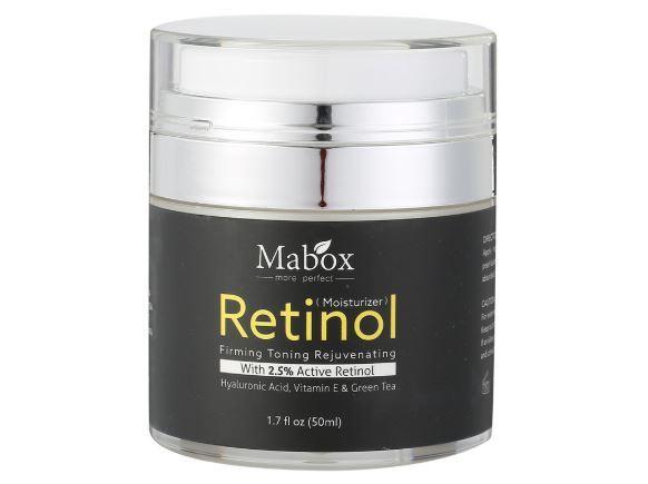 Retinol 2.5  moisturizer face cream vitamin e collagen retin anti aging wrinkles