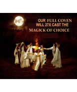27X FULL COVEN WILL CAST AND EMPOWER YOUR CHOIC... - $133.77
