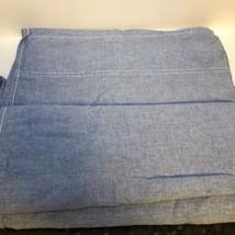Ralph Lauren Flat Sheet TWIN Chambray Blue  - $19.80