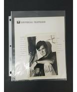 2 Robert Culp Autographed Photo 5x7 & 8x10 Houston We Have a Problem Apo... - $93.20