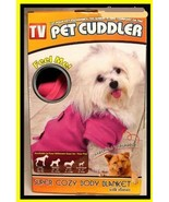 Pet Cuddler Pink Body Blanket  Two different sizes are available  - $19.99