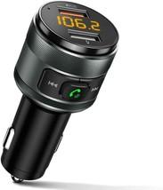 Bluetooth 5.0 FM Transmitter for Car 3.0 Wireless Bluetooth FM Adapter C... - $20.88
