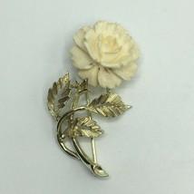 Vintage Usner Flower Brooch - $14.85