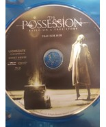 The Possession Blu-ray disc only - $2.75