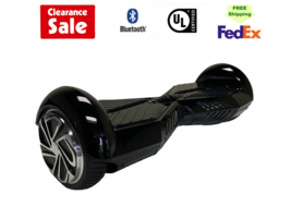 """Lambo Hoverboard Bluetooth with speaker Hoverboard 6.5"""" M3 Black  - $99.00"""