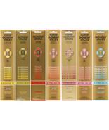 Gonesh Sticks Incense Extra Rich Aroma Fragrance Wooden 3 Hole Holder (2... - $3.99