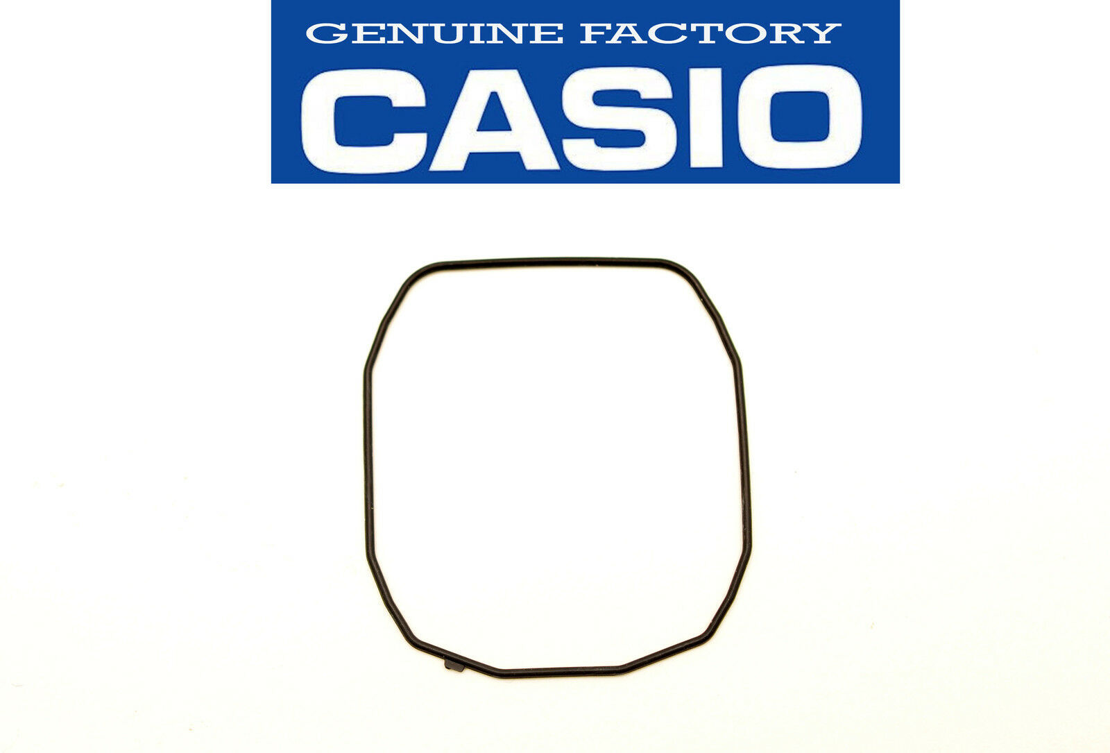 Primary image for  Genuine Casio WATCH GASKET O-RING BLACK PAS-400B PAS-410B PRS-400 PRS-400B