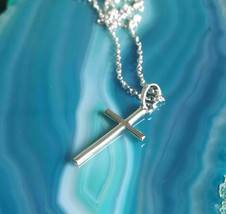 7x Angelic protection Spell ! Silver Elegant Cross ! - $34.42