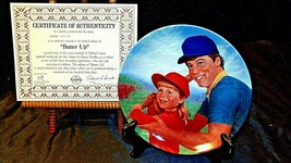 """1984 """"Batter UP,""""  by Betsy Bradley with Box ( Knowles ) AA20- CP2166 Vi... - $59.95"""