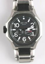 Nixon A397-000 The Tangent Black & Silver Tone Stainless Steel Men's Watch $500 image 3